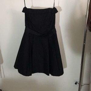 Cocktail Dress with Belt and POCKETS!